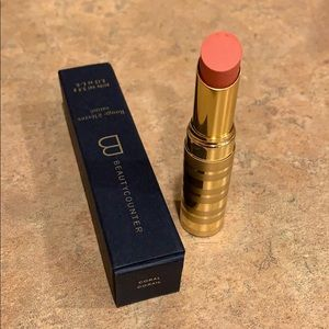 NEW Beautycounter Sheer Lipstick in Coral